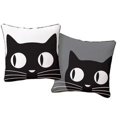 @amanda galloway. I pinned this Big Eyes Cat Pillow from the Naked Decor event at Joss and Main!