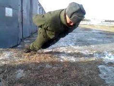 Russian Army Super Secret: No Hands Push Ups Slav Squat, Russian Video, Funny Images, Funny Pictures, English Caption, Russian Humor, Funny Russian, Super Secret, Entertainment Video