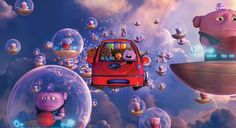Home * dreamworks picture. Oh the boov and tip across the sky