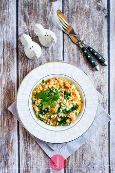 Risotto z kurkami - przepis jak zrobić risotto kurkowe. #kurki #risotto #grzyby #obiad #kolacja #przepisy #kuchniawłoska