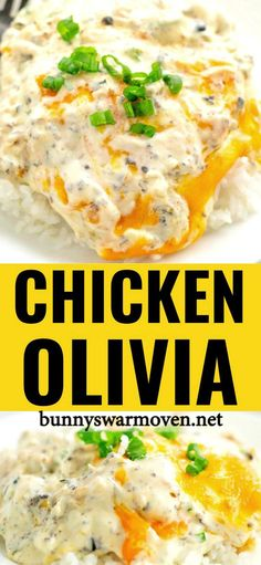 A creamy delicious chicken dinner made easy by using a rotisserie chicken. A creamy delicious chicken dinner made easy by using a rotisserie chicken. Easy Chicken Recipes, Turkey Recipes, Recipes With Shredded Chicken, Beef Recipes, Easy Recipes, Drink Recipes, Caesars Salad, Cooking Recipes, Healthy Recipes