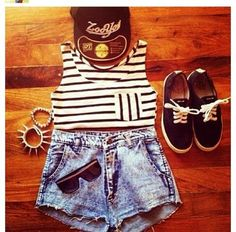 shorts cap sunglasses top jewels vans tank top t-shirt hat snapback bracelets sneakers shoes