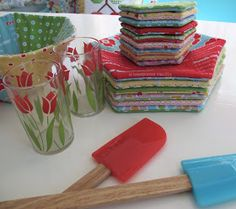"""My new pattern for the kitchen canisters is ready!!! The pattern is called """"Kitchen Love"""" and it took me quite a while to finis..."""