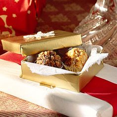 Chocolate-Praline Truffles | MyRecipes.com  I used to make truffles for gifts...need to start again.