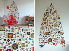 Make your own tree out of anything ;)