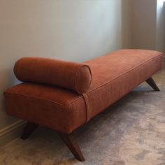 Daybed by Me, #louiseliljencrantzdesign #interiordesign #astridtyger #linen #rust #daybed #work