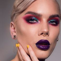 Linda Hallberg - Page 5 of 1927 - Sexy Makeup, Gorgeous Makeup, Makeup Geek, Makeup Art, Makeup Ideas, Makeup Tutorials, Dark Makeup Looks, Party Eyes, What Is An Artist