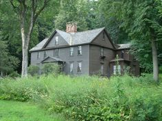Orchard House, home of Louisa May Alcott and her family, Concord, MA. Photo by Carolan Ivey.