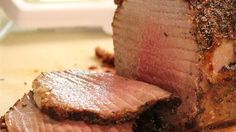 This is your basic everyday eye round roast beef.  Simply cooked to perfection. Serve it to family or company. The secret is in the time cooked. 20 minutes per pound at 375 degrees.