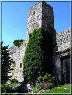 Le château de Cornillon dans le Gard n'a plus son prestige d'antan, mais avec ses fantômes de tours, ses vestiges de remparts il brille par son historique si dense.