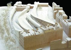 Eisenman's unrealized Qaui Branly Museum in Paris. Image Courtesy of an-onymous.com