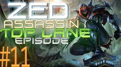 League of Legends Assassin ZED v/s Vi in Top Lane!