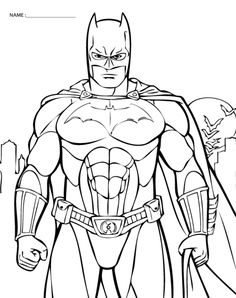 free printable coloring pictures of batman the printable lab im batman - Kids Printable Pictures