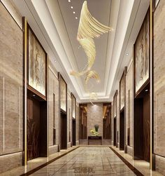 Ceiling Light Design, False Ceiling Design, Luxury Chandelier, Chandeliers, Coridor Design, Elevator Lobby Design, Hotel Corridor, Hotel Carpet, Hotel Lobby