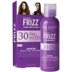 The 4 Best Frizzy Hair Solutions You Need Now | Marc Anthony 30-Day No Frizz Keratin Smoothing Treatment