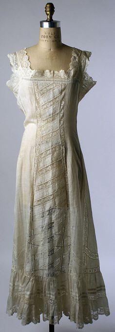 Petticoat: 1910-15, French.