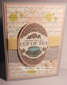 Tea Party, Stampin' Up!