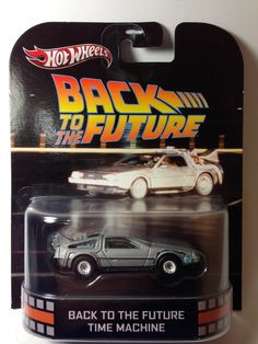 Models - Hot Wheels - Back to the Future Time Machine - 2013 Retro Entertainment Series for sale in Cape Town (ID:109092911)