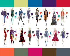 Модные цвета осень-зима 2014-2015