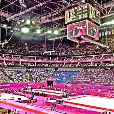 99gr81's photo  of London 2012 venue - North Greenwich Arena on Instagram
