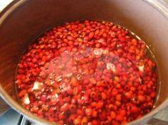Šípkový lekvár, sirup a ,,čaj,, bez čistenia šípok (fotorecept) - obrázok 1