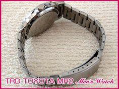 新バージョン トヨタ MR2 AW11 SW20 MR2 TRD ロゴ 腕時計 新品_MR2 TRD ロゴ 腕時計