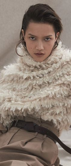 Wooly Bully, Ivory, Beige, Cream, Fashion, Creme Caramel, Moda, Fashion Styles, Fashion Illustrations