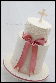 christening cake vintage | Flickr - Photo Sharing!