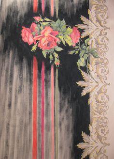 Dipinto su seta