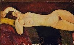 Reclining Nude by Modigliani