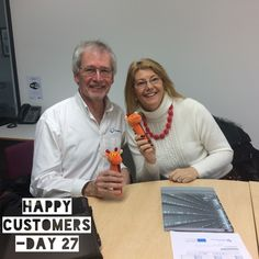 """I've had a very productive day today and got into my """"B"""" list!   This was the only photo that I took today. Happy customers who now have a full action plan for their website,  I also learned a few new things :-)  Day 27 - photo challenge"""