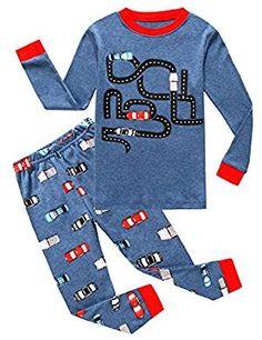 Size 12M-14Y Leveret Boys Skull Blue Pajama Set 100/% Cotton