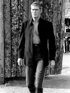 Chuck Connors in Branded (1965)