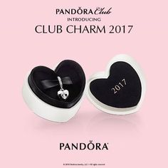 Introducing the 2017 Club Charm, a truly special collector's item with a precious diamond! This Club Charm was picked exclusively by PANDORA Club members and would be a special addition to your collection. #DoPANDORA #PearHome