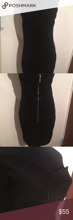 Walter Baker Black Strapless Body Con Dress - M - Walter By Walter Baker - LIKE NEW Condition, WORN ONCE! - Thick Black Body Con Material - Working Zipper in Back - SMOKE and PET FREE Home - NO PayPal ONLY Poshmark  Check out my closet! Bundle offers available! Walter Baker Dresses Strapless