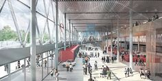 Gallery of Denmark's Largest Exhibition Center to Be Expanded by Schønherr and Cubo Arkitekter - 3