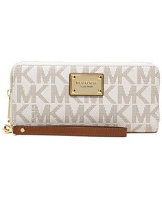 MICHAEL Michael Kors Jet Set Item Travel Continental Wallet - Wallets \u0026  Wristlets - Handbags \u0026