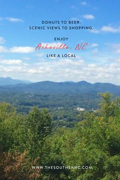 A local's guide to a weekend in Asheville, North Carolina (that doesn't include the Biltmore!)