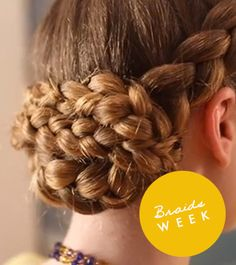 WATCH: How to Create a Braided Updo   Daily Makeover