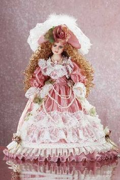 Image detail for -Collectible Porcelain Doll
