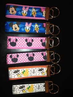Disney key fob fish extender gifts