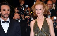 O ator Rodrigo Santoro e a atriz australiana Nicole Kidman chegam para a sessão de gala de 'Hemingway & Gellhorn'