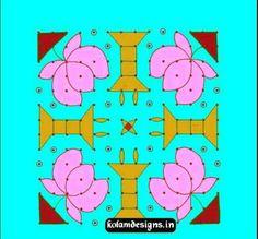 Kolam For Learners – 25 | Kolam and Rangoli Designs