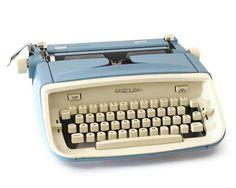 Royal Safari Typewriter Vintage Portable by GizmoandHooHa on Etsy, $125.00