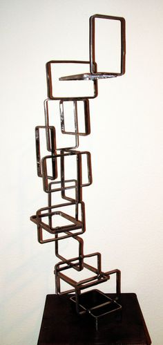 Metal sculpture for the home by Metalution Designs.
