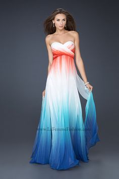 Long Halter Ombre Prom Dress, Halter Prom Gowns - Simply Dresses ...