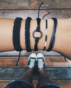 Black to Basics | Pura Vida Bracelets