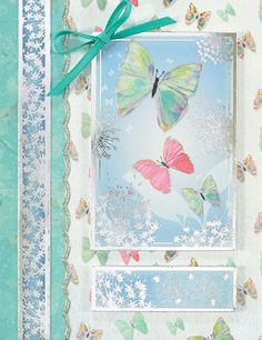 20 3D TEAL SHIMMER BUTTERFLIES WEDDING STATIONERY TOPPERS CRAFTS CARDS