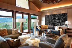 Enter Our 2018 Home of the Year Contest! Decoration Design, Deco Design, Taj Mahal Quartzite, Ravenna Mosaics, Mountain Living, Mountain Houses, Mountain Style, Mountain Modern, New Ravenna