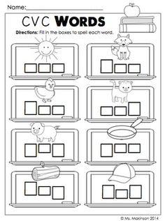 Worksheet in Kindergarten Number 11-19 packet found in